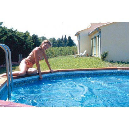 B che pour piscine t super tonga ubbink 2692e for Bache piscine ete