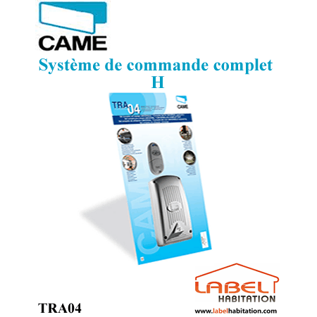 SYSTEME DE COMMANDE CAME COMPLET H-TRA04