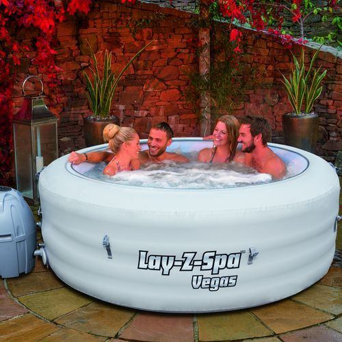 Spa gonflable 4 à 6 places Lay-z spa Rond - Vegas – BESTWAY - 54112