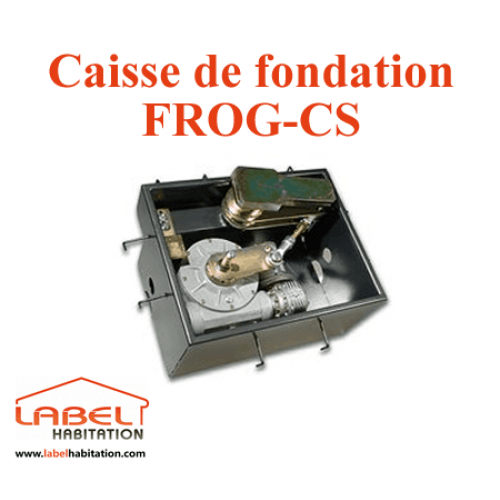 Caisse de fondation CAME FROG-CS