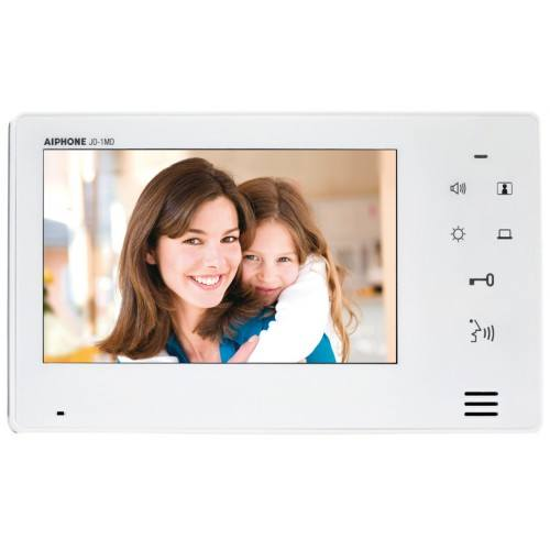 Moniteur interphone vidéo supplementaire touches sensitives et extra plat AIPHONE - JO1FD