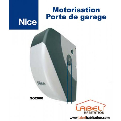 Motorisation porte de garage NICE Soon - SO2000