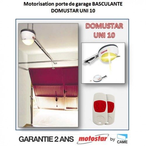 Motorisation porte de garage basculante - MOTOSTAR by Came - Domustar UNI 10