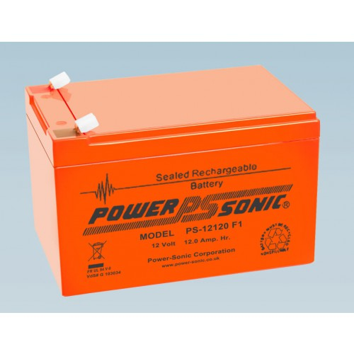 Batterie 12V 12.0AH - POWER SONIC PS-12120 Série VO Flamme Retardante