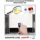 Motorisation porte de garage sectionnelle MOTOSTAR by Came Domustar SEC100