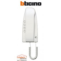 Combiné interphone audio filaire Sprint Bticino - 334202 - 5/6 fils