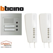 Kit interphone audio Bticino - 367221