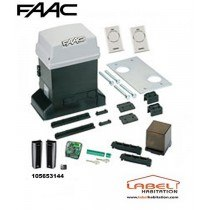 Motorisation portail coulissant FAAC Pratico Kit ACT Integral - 105653144
