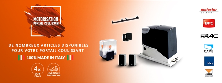 Motorisation portail coulissant LIMUS ONE