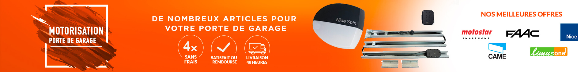 Motorisation porte de garage Limus one