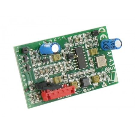 Came carte radio embrochable CAME 001AF43S 433.92 MHZ