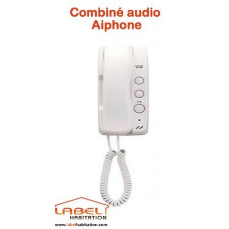 Combiné interphone audio 2 fils Aiphone - DA1MD