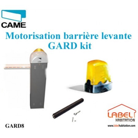 Barrière levante Kit CAME GARD 8.00 Kit Complet