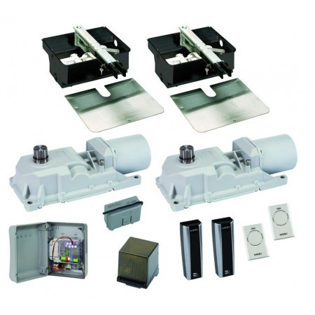 Motorisation portail 2 battants FAAC Power-Kit 24V Integral - 106747144