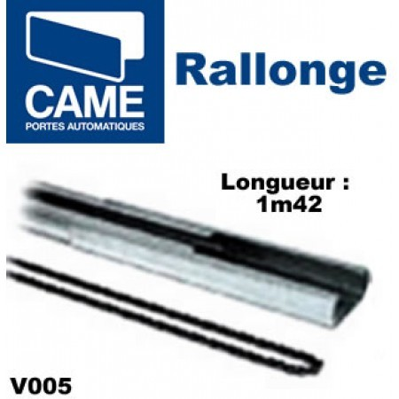 Rallonge guide à chaine - CAME - V005 - achat motorisation