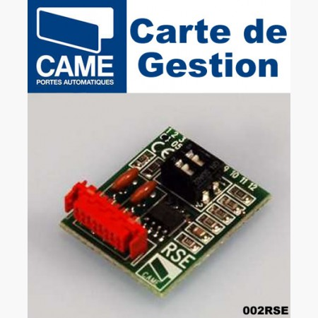 Carte de gestion de fonctions CAME - 002RSE