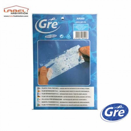 Kit réparation waterproof 5 patchs - GRE - AR202