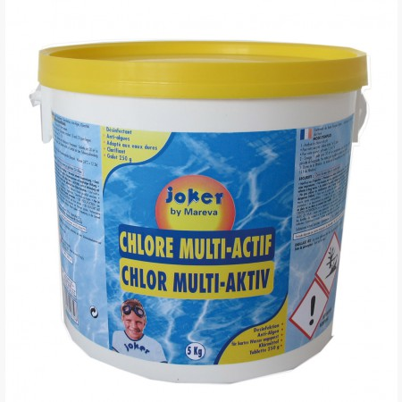 Traitement multi-actif au chlore Joker MAREVA 100759