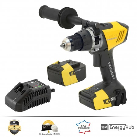 Perceuse à percussion Brushless - ENERGYDRILL-18VPBL1