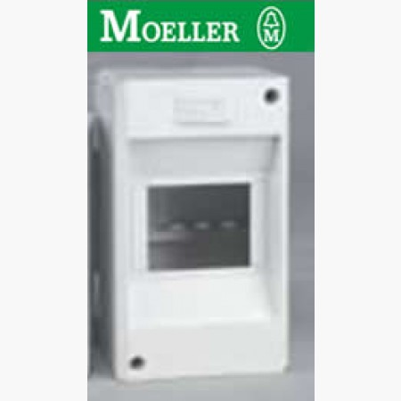 Mini Coffret Cache bornes KLV-TC : 4 modules IP 30 - MOELLER