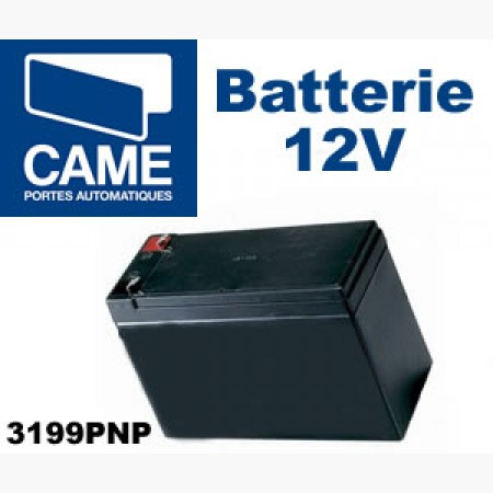 Batterie de secours 12V - 7Ah CAME 3199PNP612 - Batteries de secours