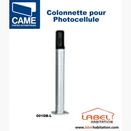 Colonnette aluminium pour photocellule CAME - 001DB-L