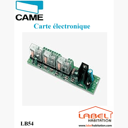 Carte pour branchement 2 batteries de secours CAME - 002LB54