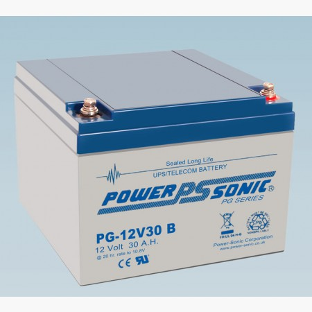 Batterie 12V 30.0AH - POWER SONIC PG12V30
