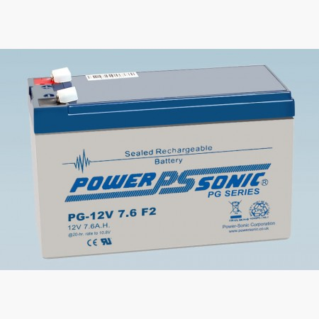Batterie 12V 7.6AH - POWER SONIC PG12V7.6