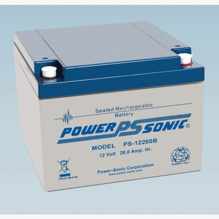 Batterie 12V 26.0AH - POWER SONIC PS-12260GB