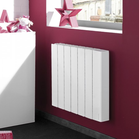 Radiateur bloc aluminium à inertie ATLANTIC - Accessio Digital LabelHabitation