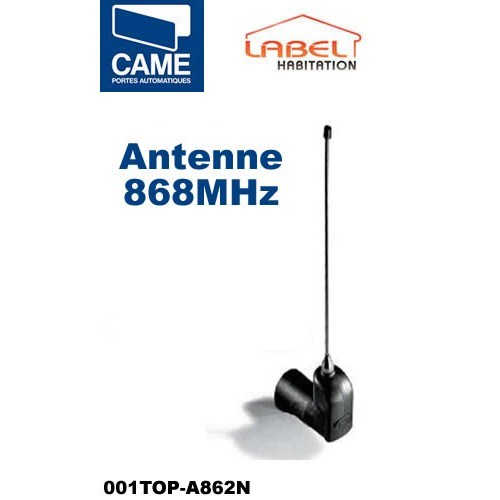 Antenne fréquence 868 MHz CAME - 001TOP-A862N