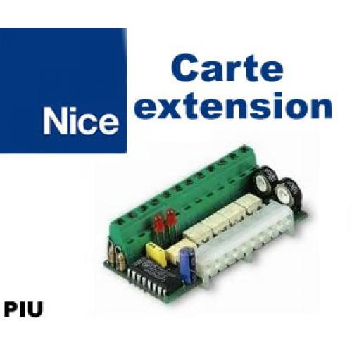 Carte d'extension de commande NICE PIU