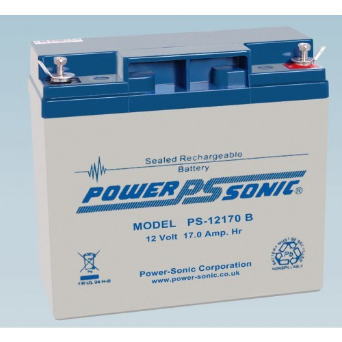 Batterie 12V 17.0AH - POWER SONIC PS-12170GB