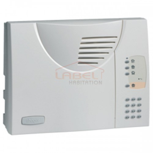 Centrale d'alarme filaire gestion 4 zones HAGER - S334-22F
