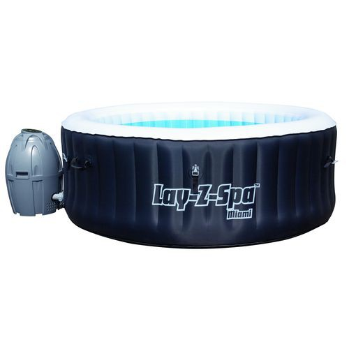 Spa Gonflable 2 4 Places Lay Z Spa Rond Miami Bestway 54123