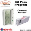 Kit Pass Program par Courant Porteur Atlantic - 602211+602010