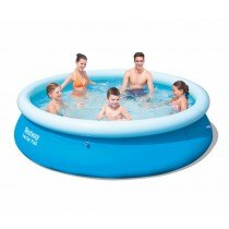 Piscine Ronde Fast Set POOL 2,44 x 0,66 m - sans filtration - BESTWAY - 57265