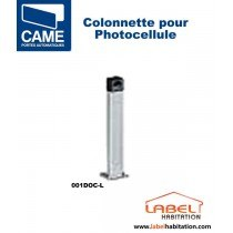 Colonnette aluminium pour photocellule CAME - 001DOC-L