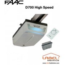 Motorisation porte de garage FAAC Dolphin Kit D700 High Speed