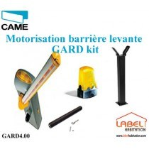 Barrière levante Kit CAME GARD4 3.75 Kit Complet