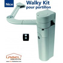 Motorisation portillon NICE Walkykit 1024 - 24 V