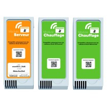 Pack promo : 1 module Serveur + 2 modules Chauffage Smart EcoControl AIRELEC