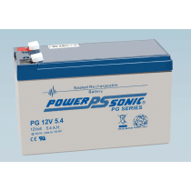 Batterie 12V 5.4AH - POWER SONIC PG12V5.4