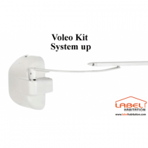 Motorisation volet battant filaire - CAME Voleo System UP 001FR1335