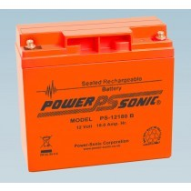 Batterie 12V 18.0AH - POWER SONIC PS-12180 Série VO Flamme Retardante