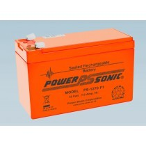 Batterie 12V 7.0AH - POWER SONIC PS-1270 Série VO Flamme Retardante