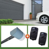 Motorisation porte de garage NICE - SHELKIT 24V