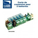 Carte connexion 2 batteries de secours CAME 0021LB180