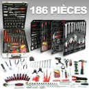 Coffret outillage 186 pièces LBH LB-428